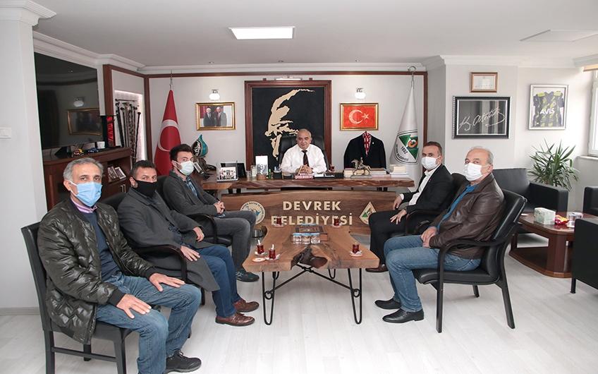 CHP ÇAYDEĞİRMENİ BELDE BAŞKANINDAN BELEDİYEMİZE ZİYARET